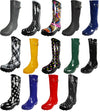 Norty Womens Rain Boots Rubber Solid Glossy Wellie Hi Calf Snow Rainboot