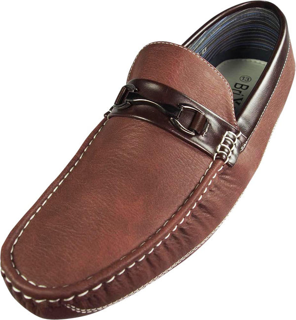 Norty Mens Moda Italy Fashion Driving Casual Loafers Boat Shoes Moc