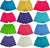Toddler Little Girls Knit Athletic Gym Excersize Shorts - 13 Colors - Sizes 2T -, 38985