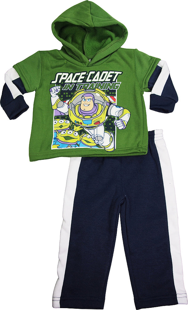 Toy Story - Baby Boys' Long Sleeve Buzz Lightyear Jog Suit Set