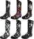 Norty Womens Rain Boots Rubber Printed Wellie Hi Calf Snow Rainboots
