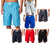 Norty Mens Cargo Solid with Stripe Boardshort Swim Trunks