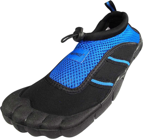 Fresko Teen Boy's Water Sports Aqua Shoes with Toes - RUNS 1 SIZE SMALL, TN1016