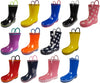 Norty Toddler Waterproof Rubber Rain Boots for Kids Children Boys and Girls, 39815