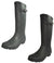Norty Womens Rain Boots Rubber Solid Matte Color Wellie Hi Calf Snow Rainboots