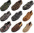 Perry Ellis Portfolio Mens Moccasin & Twin Gore Slippers - 9 Colors / Styles, 40033