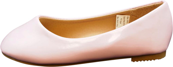 Norty Girls Fashion Ballerina Ballet Slip-on Flat Shoe - Big Girls