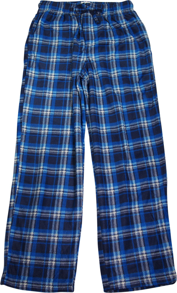 Norty Rio Men's 100% Fleece Polyester Sleep Lounge Pants - 7 Color Combinations, 40091