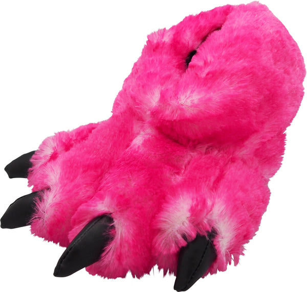 Norty Grizzly Bear Stuffed Animal Claw Slippers - Plush Paw Slippers - Furry Ani, 39421