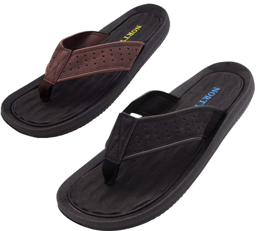 5fb36c8af20f0 NORTY Men s Ultra Soft EVA Foam Flip Flop Thong Beach