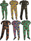Fun Footies Boys and Girls Cozy Fun Printed One Piece Footed Blanket Sleeper, 40600