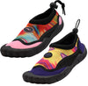 Norty New Women's Tie Dye Water Shoes Aqua Socks Pool Beach Surf Swim Slip On, 41157