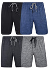 Hanes Men's & Big Men's Brushed Performace Knit Short - 2 Pack, 41315