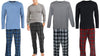 Hanes Big Men's Long Sleeve Thermal and Fleece Pant Pajama Set, 41321