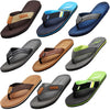 Norty Men's Soft EVA Flip Flop Thong Sandal Shoe for Casual Beach Pool Everyday, 41411
