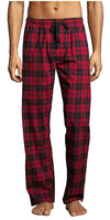 Hanes Mens Plaid Woven Blend Lounge Pajama Sleep Pant - Sizes S -4XL, 41495
