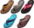 Norty Women's Soft Cushioned Footbed Flip Flop Thong Sandal - 5 Colors Available, 41502