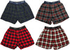 Hanes Men's Flannel for Men Boxer Shorts for Lounging and Sleeping, 41511