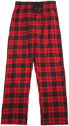 Hanes Mens Plaid Woven Blend Lounge Pajama Sleep Pant, 41517