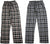 Hanes Men's Lightweight Yarn Dyed Flannel Sleep Pajama Lounge Pants for Men, 41518