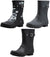 New Norty Women 9 Inch Rain Boots Rubber Snow Rainboot Shoe Bootie - Runs 1/2 Size Big