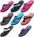 Norty Women's Soft Cushioned Footbed Flip Flop Thong Sandal - Runs One Size Small