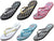 Norty Women's Casual Beach, Pool, Everyday Flip Flop Thong Sandal Shoe, 41723