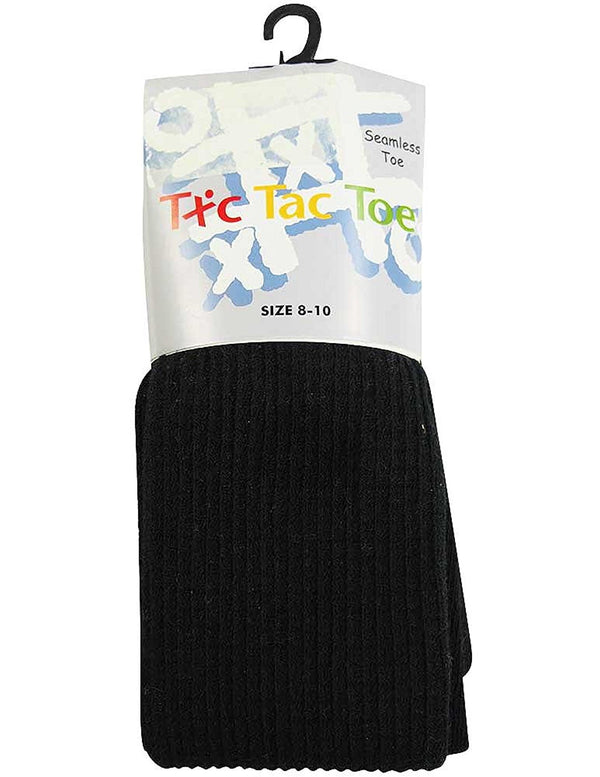 Tic Tac Toe - Big Girls Heavy Waffle Cotton Tight
