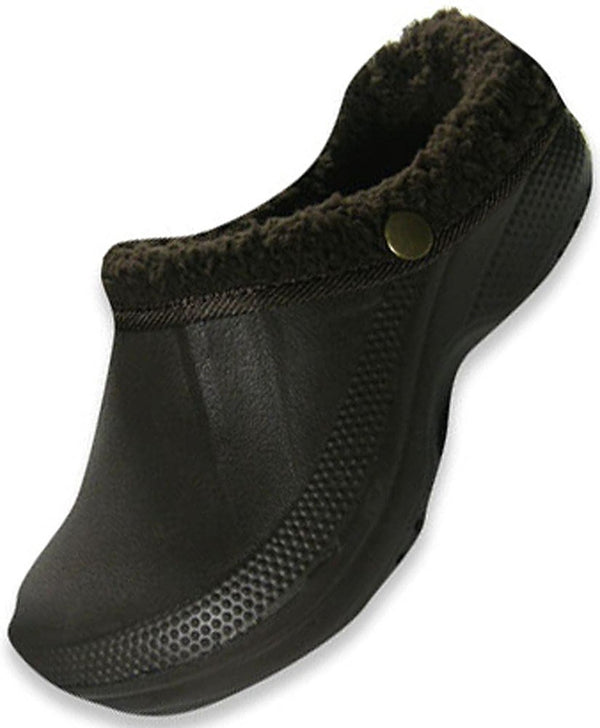 Veggies - Girls Cozy Slip On, Chocolate