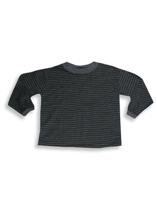 Caribe - Little Boys Long Sleeved Striped Tee