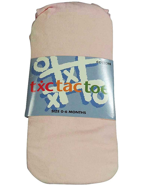 Tic Tac Toe - Baby Girls Cotton Tight