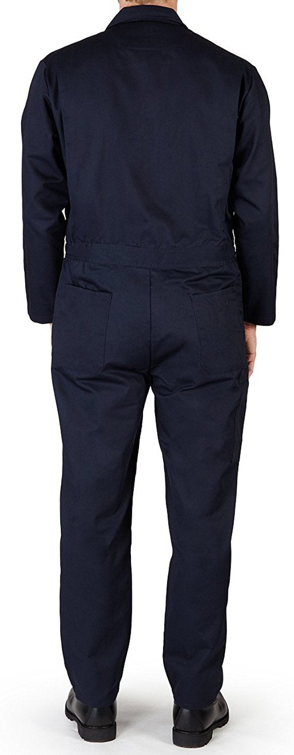 Norty - Mens Long Sleeve Basic Blended Work Coverall