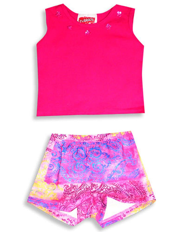 Rubbies - Little Girls 2 Piece Short Set