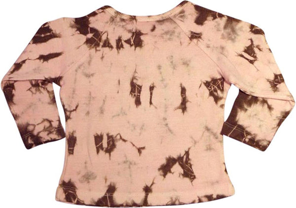 B-Nu - Baby Girls Long Sleeve Tie Dye Top