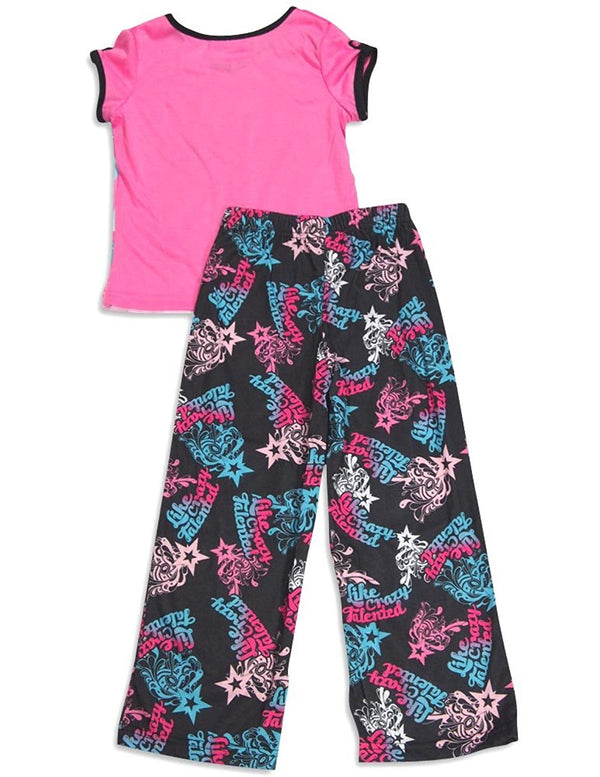 Nickelodeon - Little Girls' Like Crazy Talented Short Sleeve Pajamas