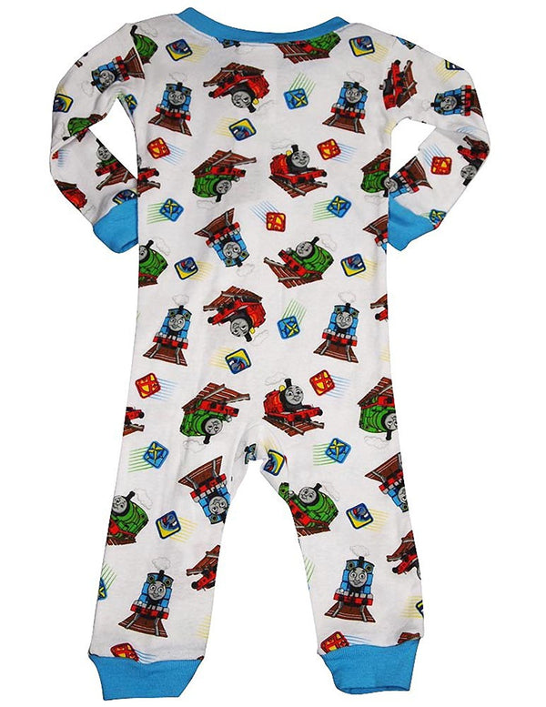 Thomas and Friends - Baby Boys Long Sleeve Thomas Coverall