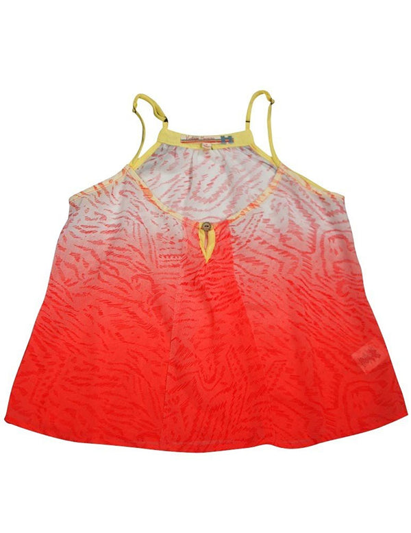 Vintage Havana - Big Girls' Dip Dye Tank