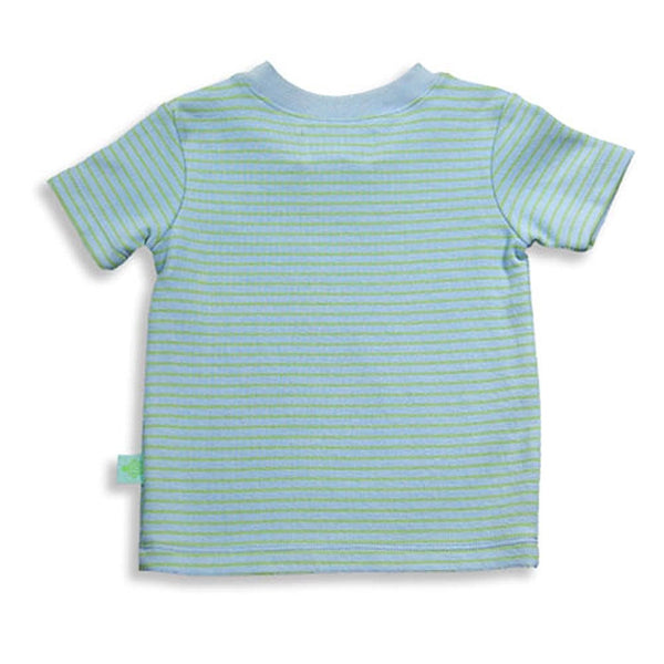 Pepper Toes by Baby Lulu - Baby Boys Short Sleeve Striped Top
