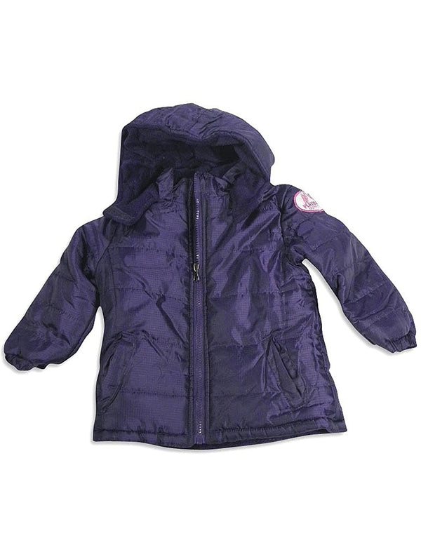 Pink Platinum - Little Girls Hooded Parka Jacket