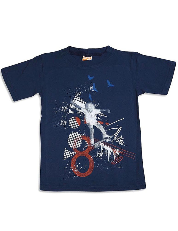 Charlie Rocket - Little Boys Short Sleeve T-Shirt