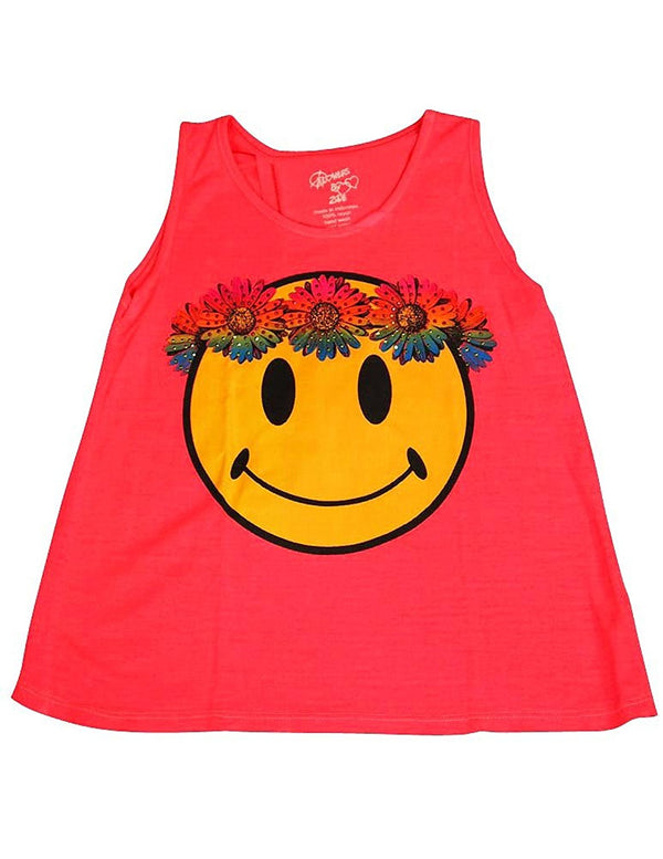 Flowers by Zoe - Girls' Sleeveless Top - 4 Designs - 100% Rayon
