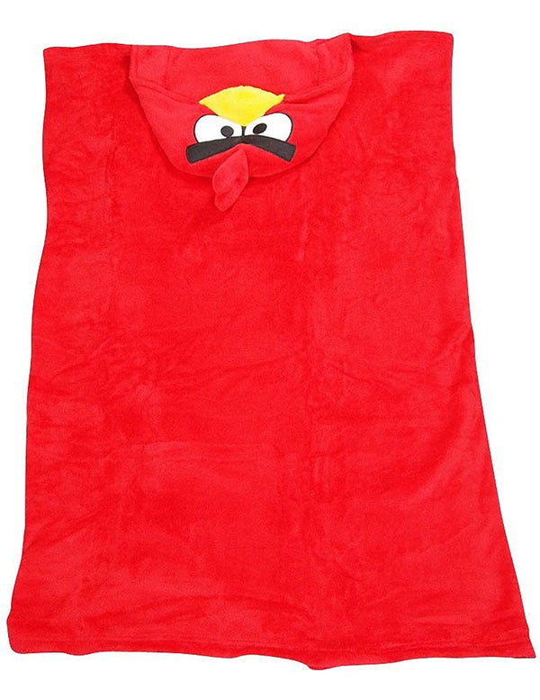Angry Bird - Little Boys Hooded Angry Bird Wrappie Wrap