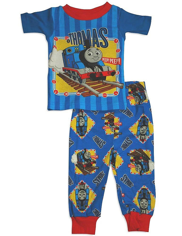 Thomas and Friends - Baby Boys Short Sleeve Thomas Pajamas
