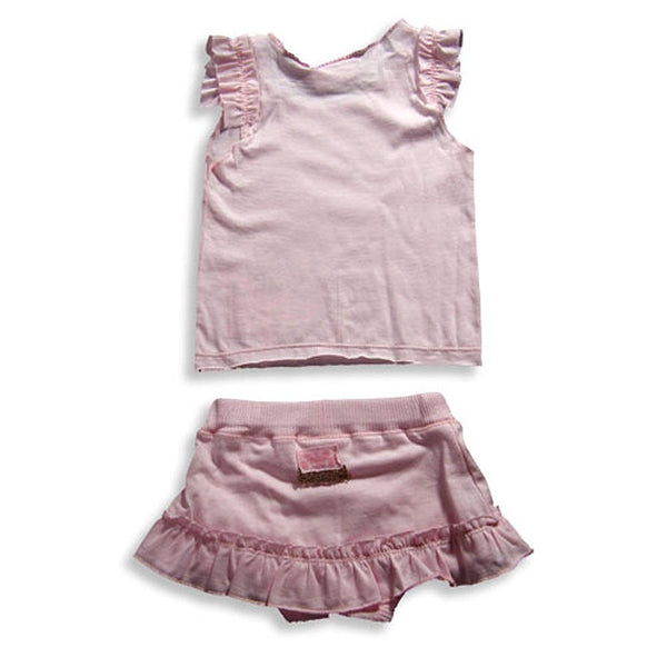 Mish - Baby Girls Sleeveless Skort Set