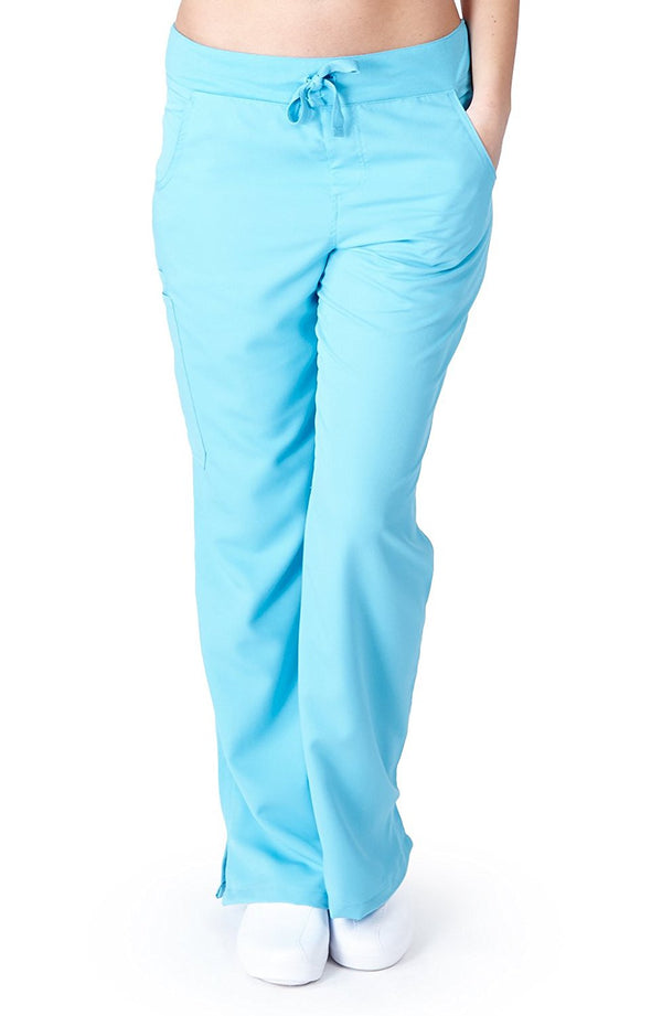 UltraSoft Premium Medical Scrub Pants for Women - Drawstring Yoga Pant inspired - JUNIOR FIT