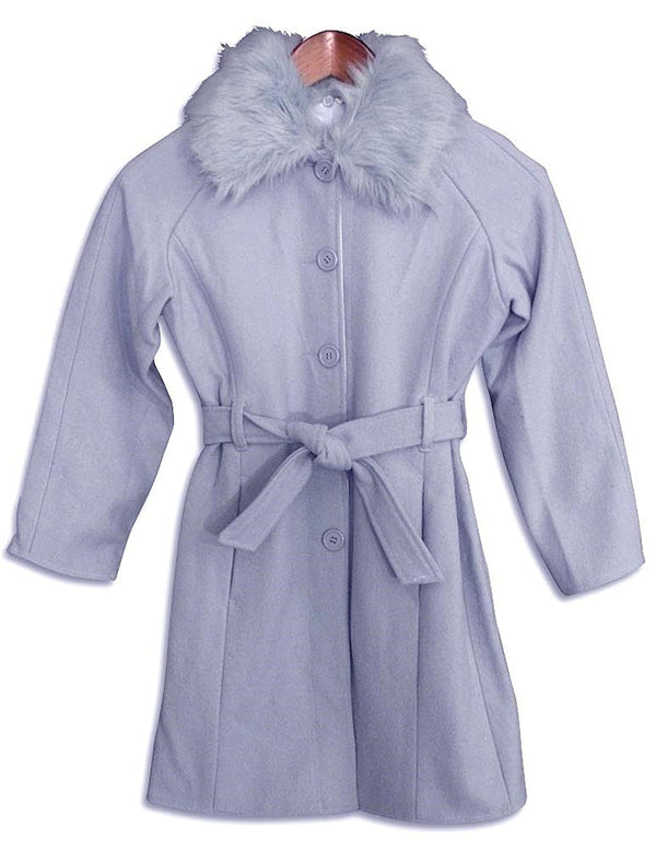 Outeredge - Big Girls' Reversible Dress Coat