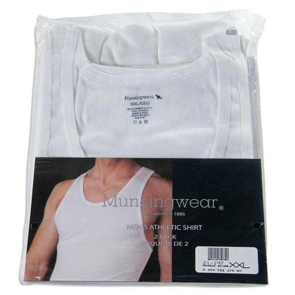 Munsingwear - Big Mens(Pack of 2) Athletic Tank Top