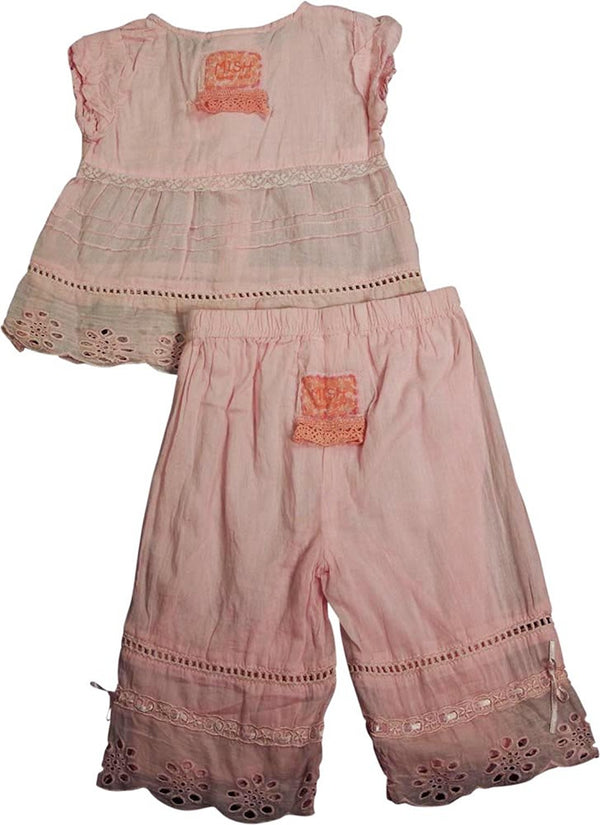 Mish Mish - Baby Girls 2-Piece Pant Set