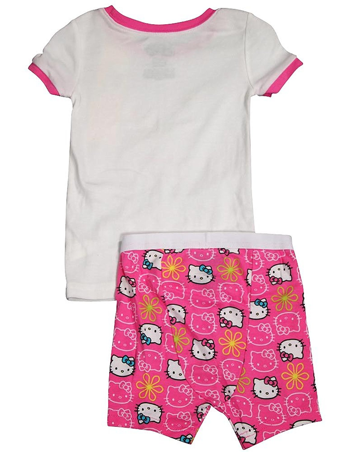 f3f20dfb7 Hello Kitty - Baby Girls Short Sleeve Hello Kitty Shorty Pajamas ...