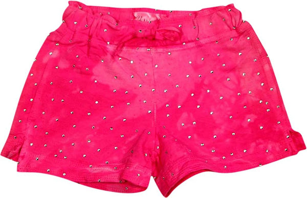 Glitter Girl - Little Girls Tie Dye Shorts